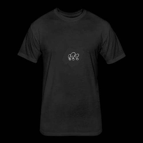 Qustions - Fitted Cotton/Poly T-Shirt by Next Level
