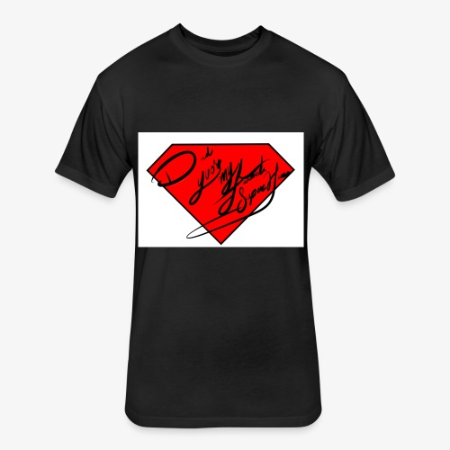 Dad you'r my favorite Super hero - Fitted Cotton/Poly T-Shirt by Next Level