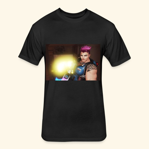 Overwatch Zarya - Fitted Cotton/Poly T-Shirt by Next Level