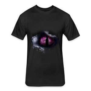 Dragon Eye - Fitted Cotton/Poly T-Shirt by Next Level