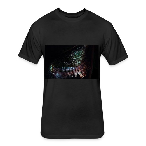 Beautiful Eye - Fitted Cotton/Poly T-Shirt by Next Level