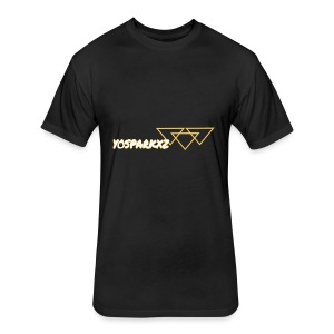 yosparkxz - Fitted Cotton/Poly T-Shirt by Next Level