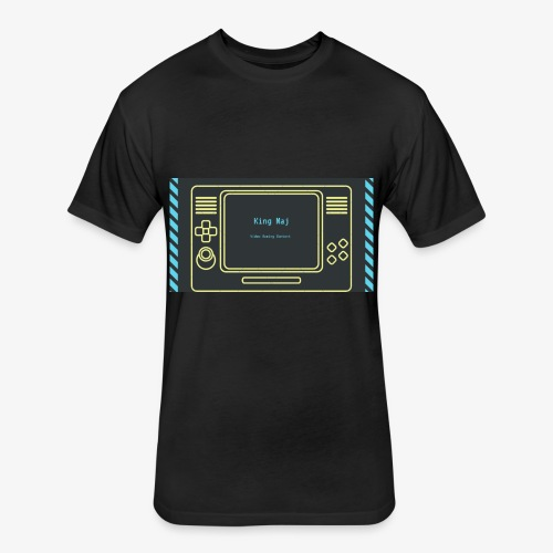 King Maj - Fitted Cotton/Poly T-Shirt by Next Level