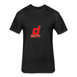 DHTV_Logo_New - Fitted Cotton/Poly T-Shirt by Next Level