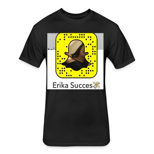 Erika Succes - T-shirt ajusté poly/coton pour hommes