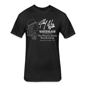 Johnny Winter's Winterland - Fitted Cotton/Poly T-Shirt by Next Level