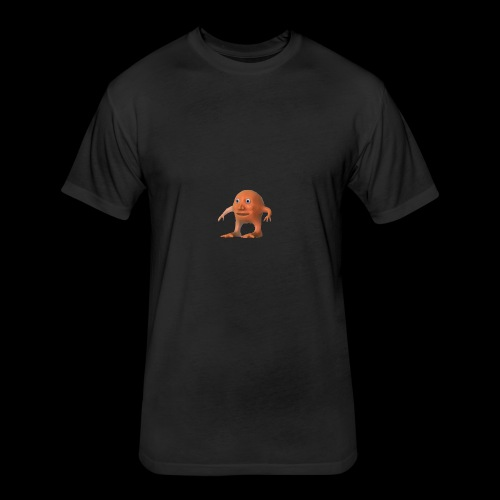 ORANG - Fitted Cotton/Poly T-Shirt by Next Level