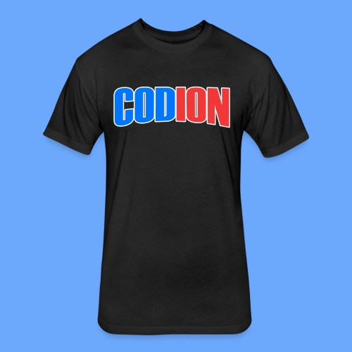 Codion Logo - Fitted Cotton/Poly T-Shirt by Next Level