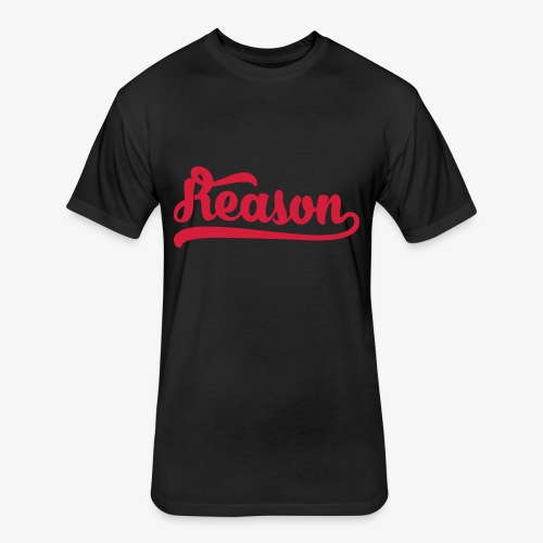 Reason Parkour Logo Tee - Fitted Cotton/Poly T-Shirt by Next Level