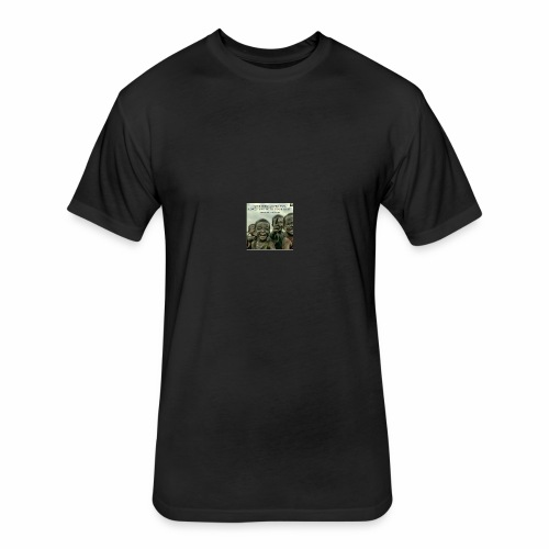 ubong t-shirts - Fitted Cotton/Poly T-Shirt by Next Level