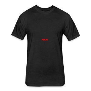MCN Logo - Fitted Cotton/Poly T-Shirt by Next Level