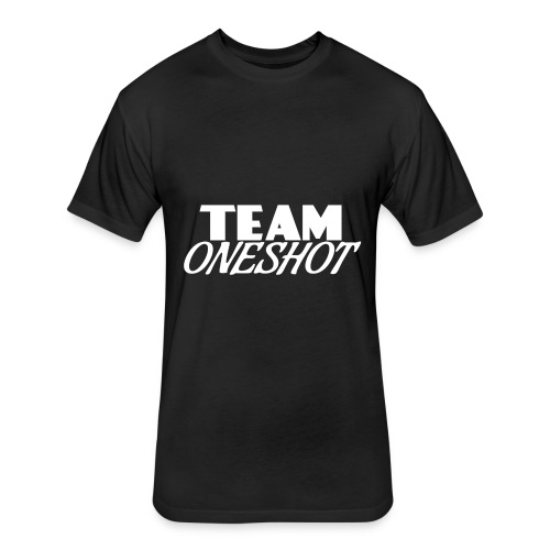 Team One Shot - All Colours - Fitted Cotton/Poly T-Shirt by Next Level