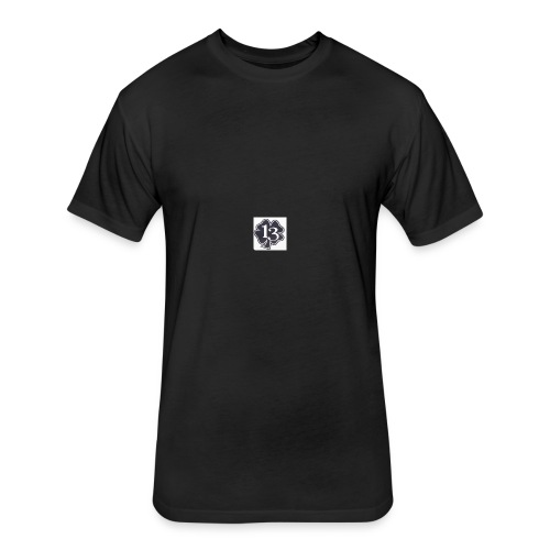 13 - Fitted Cotton/Poly T-Shirt by Next Level