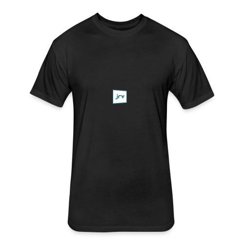 JRV logo - Fitted Cotton/Poly T-Shirt by Next Level