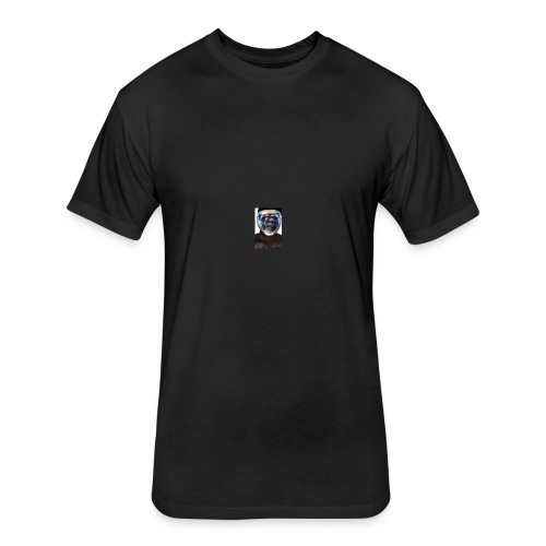 techno Logo - Fitted Cotton/Poly T-Shirt by Next Level