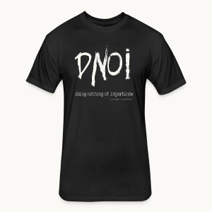 DNOI GRUNGE Carolyn Sandstrom WT TEXT - Fitted Cotton/Poly T-Shirt by Next Level