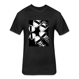 Friends with same taste - Fitted Cotton/Poly T-Shirt by Next Level
