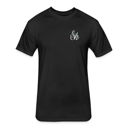 Street Holdens Logo - Fitted Cotton/Poly T-Shirt by Next Level