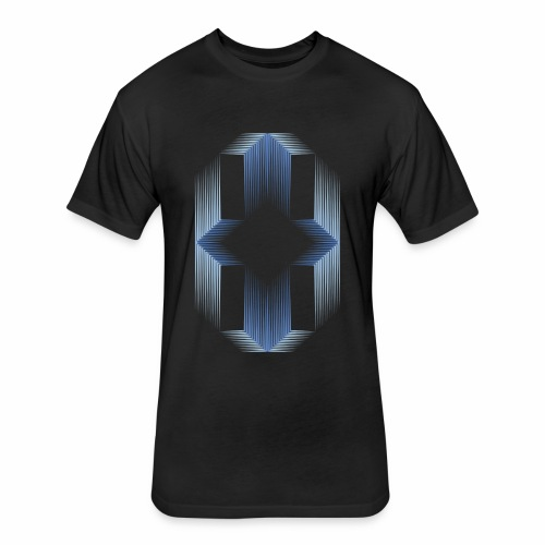 Arte Cinético - Fitted Cotton/Poly T-Shirt by Next Level