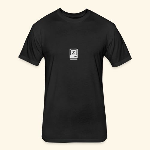 retro apple - Fitted Cotton/Poly T-Shirt by Next Level