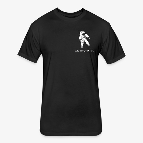 Astropark - Fitted Cotton/Poly T-Shirt by Next Level