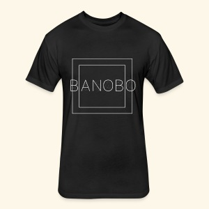 Banobo Logo - Fitted Cotton/Poly T-Shirt by Next Level