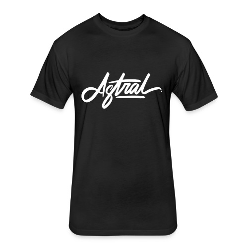 Astral Signature - Fitted Cotton/Poly T-Shirt by Next Level