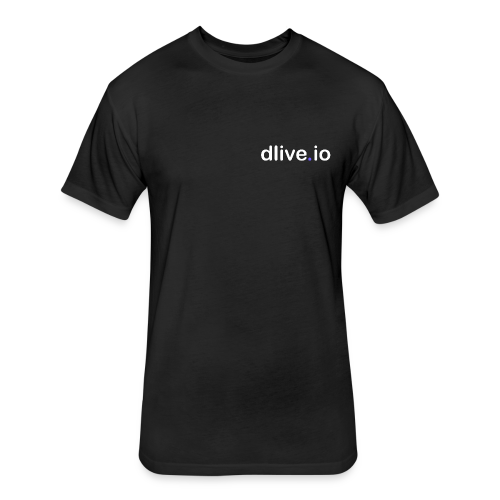dlive.io - Fitted Cotton/Poly T-Shirt by Next Level