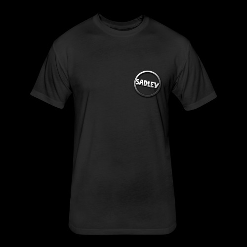 Sadley Design 1 - Fitted Cotton/Poly T-Shirt by Next Level