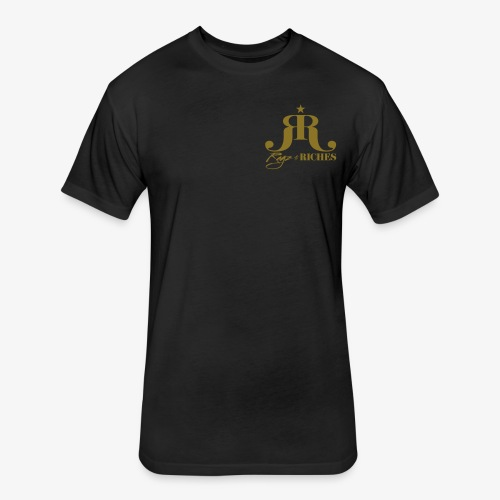 Ragz 2 Riches - Chest Logo - Fitted Cotton/Poly T-Shirt by Next Level