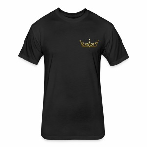 Royalty - Fitted Cotton/Poly T-Shirt by Next Level