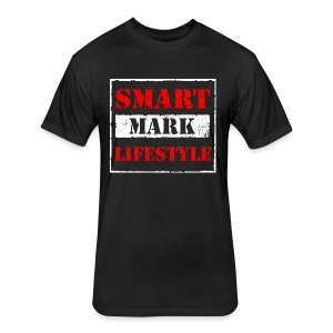 Smart Mark Lifestyle - Fitted Cotton/Poly T-Shirt by Next Level