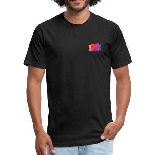 MetaMask Multi Colored Triple Head - Fitted Cotton/Poly T-Shirt by Next Level
