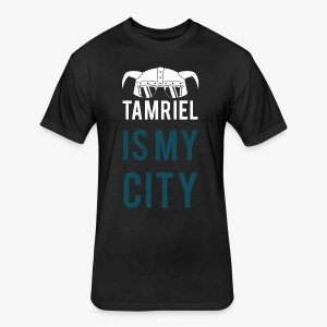 Tamriel Is My City Meme Tshirt - Fitted Cotton/Poly T-Shirt by Next Level