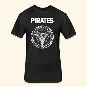 Punk Rock Pirates [heroes] - Fitted Cotton/Poly T-Shirt by Next Level