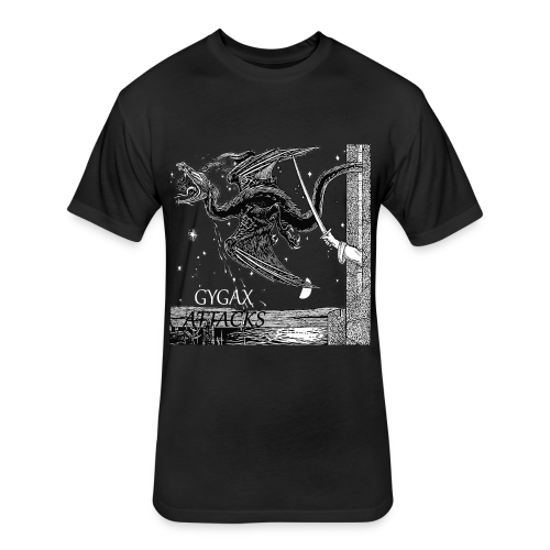 Gygax Attacks EP - Fitted Cotton/Poly T-Shirt by Next Level