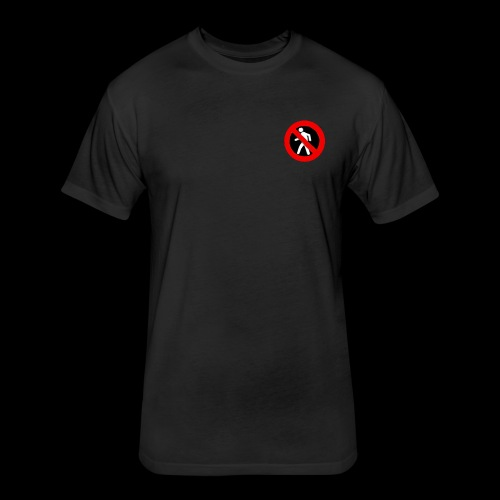 outsider brand - Fitted Cotton/Poly T-Shirt by Next Level
