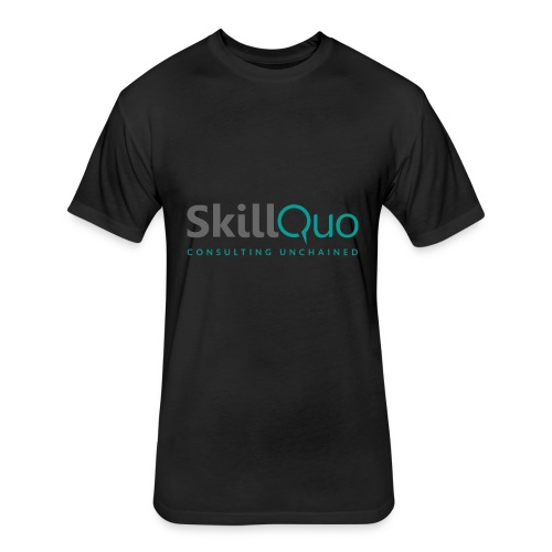 Consulting Unchained - Fitted Cotton/Poly T-Shirt by Next Level