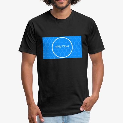 No Clout - Fitted Cotton/Poly T-Shirt by Next Level