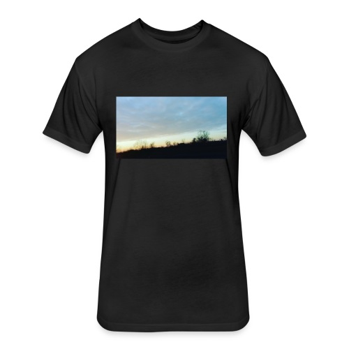 my little part of the world - Fitted Cotton/Poly T-Shirt by Next Level