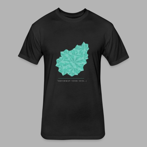 REFORMATYOURSOUL - Fitted Cotton/Poly T-Shirt by Next Level