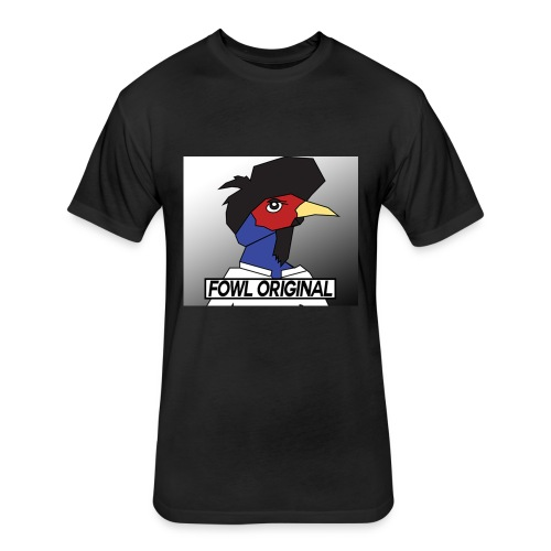 Fowl Original Logo - Fitted Cotton/Poly T-Shirt by Next Level