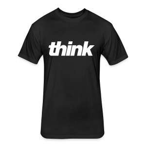 Think4 - Fitted Cotton/Poly T-Shirt by Next Level