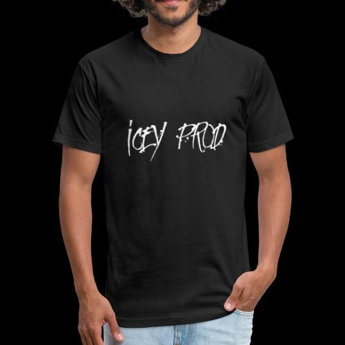 Icey Prod. Inked Logo - Fitted Cotton/Poly T-Shirt by Next Level