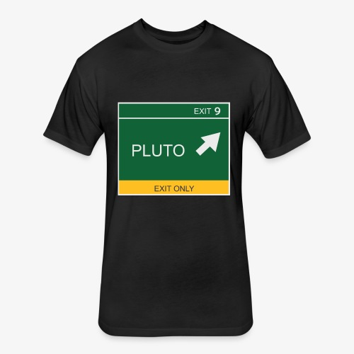 Exit to Pluto - Fitted Cotton/Poly T-Shirt by Next Level