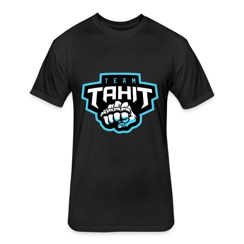 Team Tahit1 - Fitted Cotton/Poly T-Shirt by Next Level