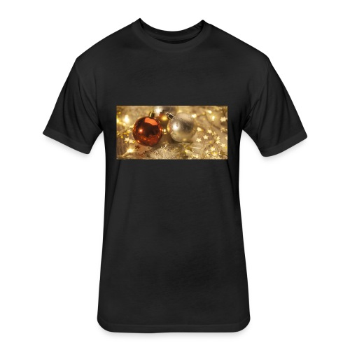 Christmas 2016 lr 1 - Fitted Cotton/Poly T-Shirt by Next Level