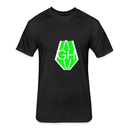 Greenhusky symbol - Fitted Cotton/Poly T-Shirt by Next Level