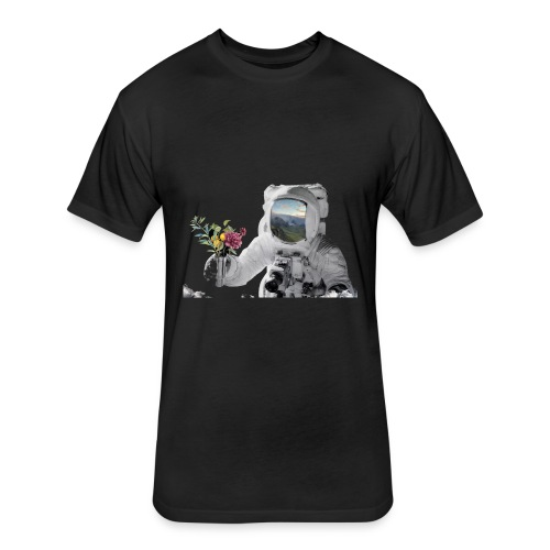 Life in Space - Fitted Cotton/Poly T-Shirt by Next Level