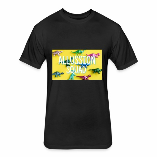 Dino Alussion Squad LIMITED - Fitted Cotton/Poly T-Shirt by Next Level